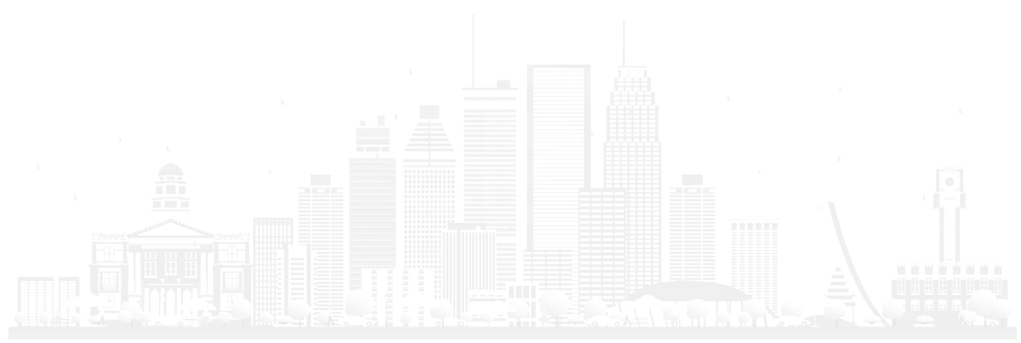 Studio XP Montreal Skyline Background Illustration