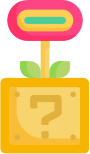 Studio XP Icon Video Game Flower