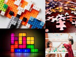 Tetris, puzzles et blocs